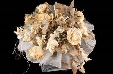 composizione fiori secchi
