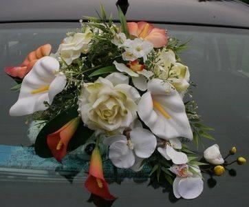 Composizioni floreali fiori finti composizione di fiori - Decorazioni fiori finti ...