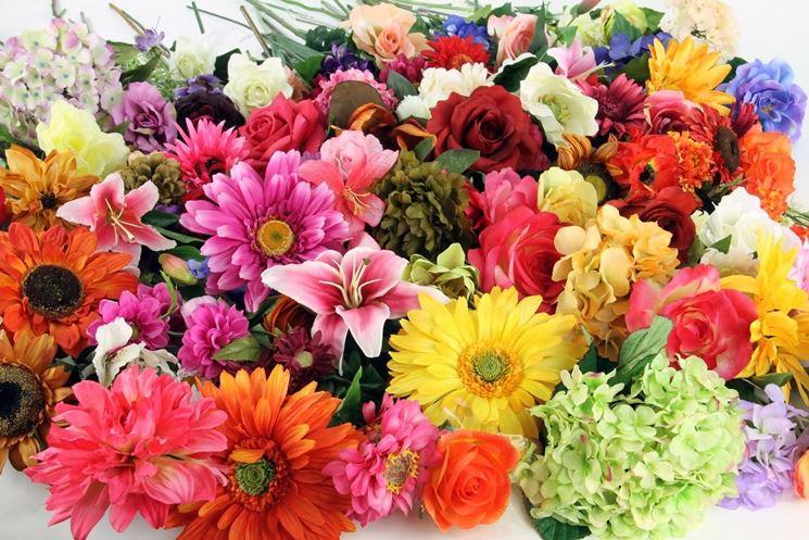fiori finti online composizione di fiori finti