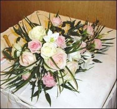 addobbi floreali tavolo