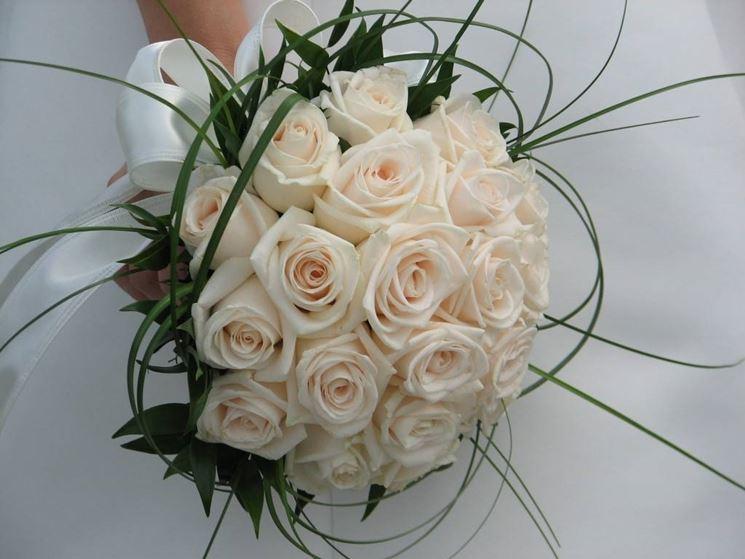 Super bouquet sposa - Fiorista LJ01