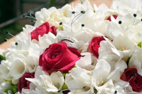 Favoloso fiori matrimonio - Composizione fiori ON99