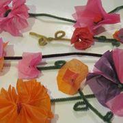 fiori di cartoncino
