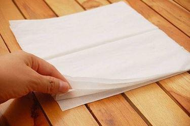 inizio creazione fiore di carta