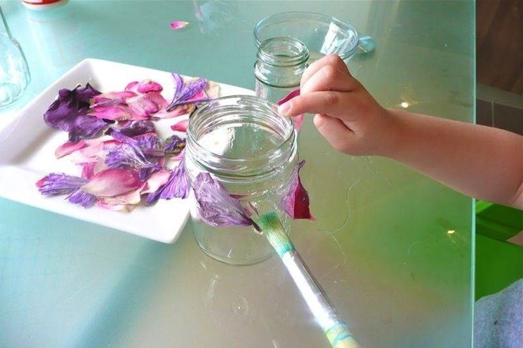 decorare con i fiori finti