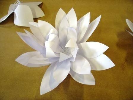 Fiori di carta come realizzarli fiori di carta for Fiori semplici