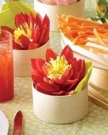 fiore di loto carta crespa