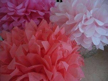 Fiori di carta esecuzione fiori di carta - I diversi tipi di carta ...