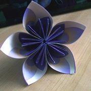 fiore carta origami