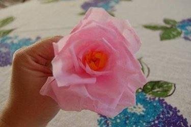 fiore carta crespa
