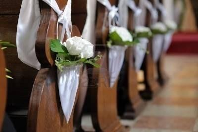 Decorazioni Per La Chiesa Matrimonio : Addobbi floreali matrimonio chiesa fiorista