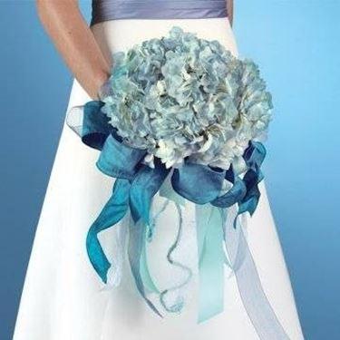 fiori azzurri matrimonio