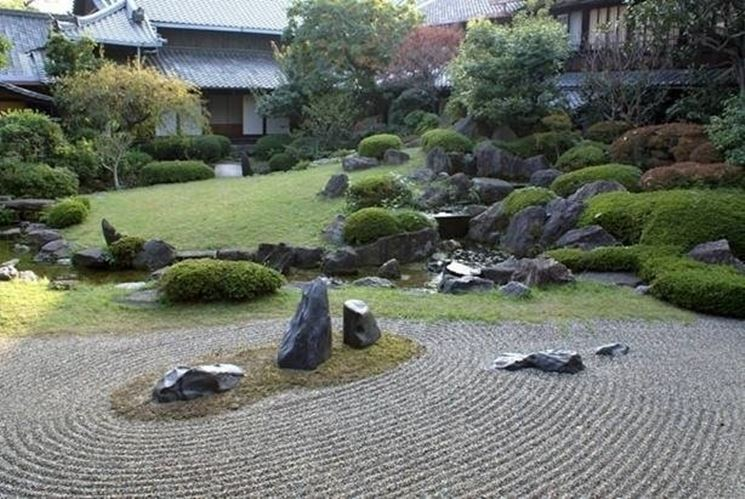 Come creare un giardino zen giardini orientali for Pietre per giardino zen