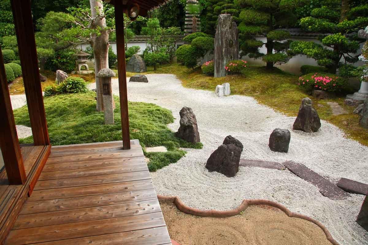 come realizzare un giardino zen - giardini orientali - Costruire Piccolo Giardino Zen