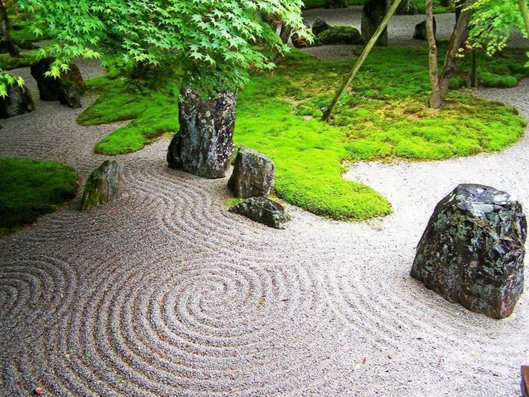 Creare un giardino zen giardini orientali - Disegnare un giardino ...