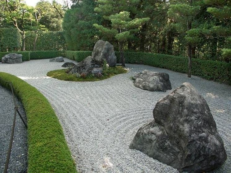 creare un giardino zen - giardini orientali - Costruire Piccolo Giardino Zen