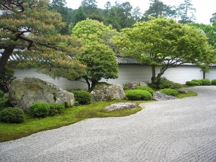 Giardini zen giapponesi giardini orientali for Pietre per giardino zen