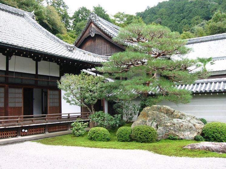 giardino zen elementi