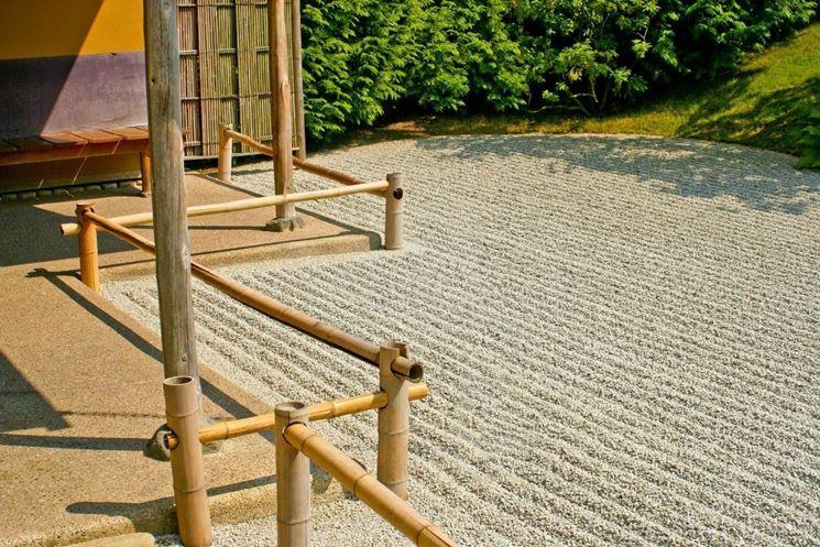 sabbia giardino giapponese