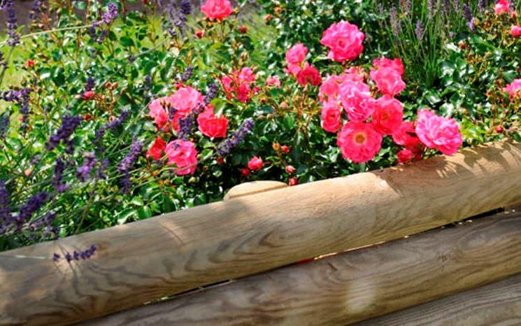 Bordure di legno