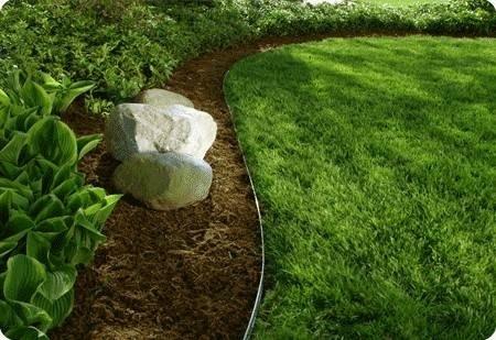 bordi per aiuole giardino fai da te