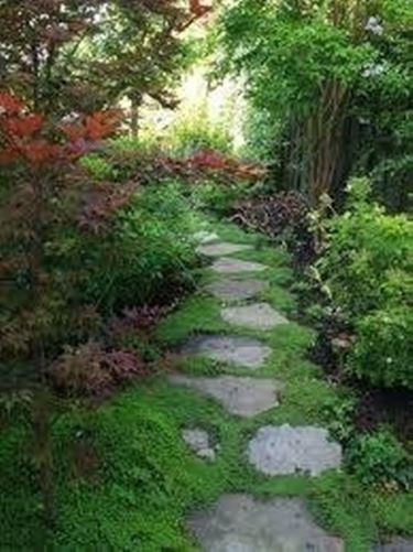 Camminamenti giardino giardino fai da te - Camminamento pietra giardino ...