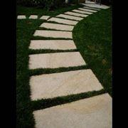 camminamento giardino