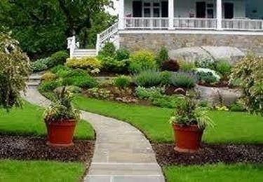 Come creare un giardino giardino fai da te - Aiuole giardino fai da te ...