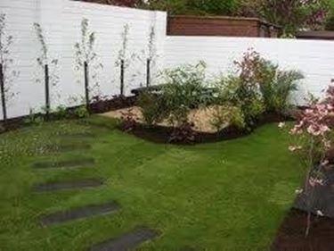 come fare un piccolo giardino - giardino fai da te - Piccolo Giardino Quadrato