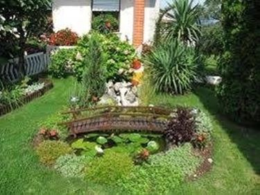 come fare un piccolo giardino - giardino fai da te - Come Impostare Un Piccolo Giardino