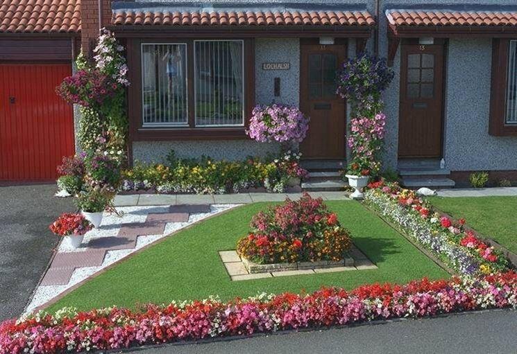 Fare giardino giardino fai da te - Idee per aiuole giardino ...
