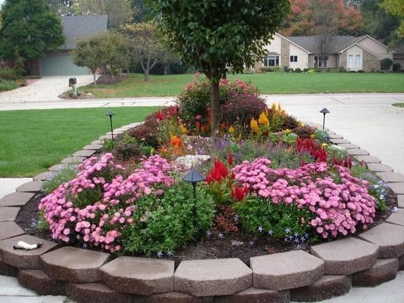 Come fare aiuole in giardino ja16 regardsdefemmes - Aiuole giardino fai da te ...