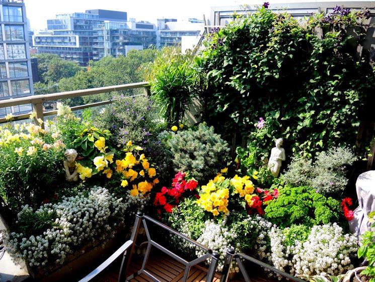 balcone a settembre