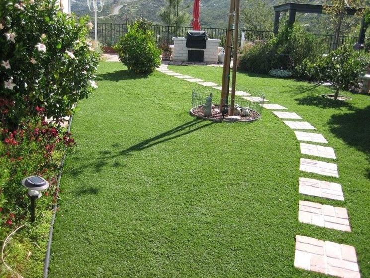 Erba artificiale prato - Erba artificiale per giardini ...