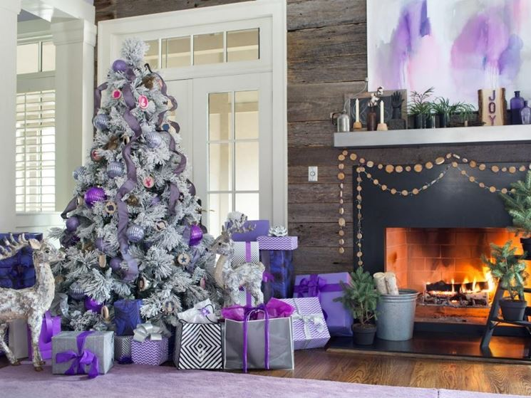 moderno albero di Natale
