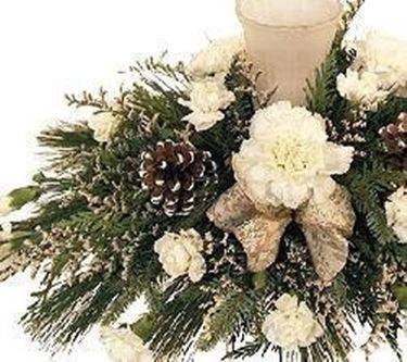 Centrotavola natalizio speciali come preparare un centrotavola natalizio - Centro tavola natalizio fai da te ...