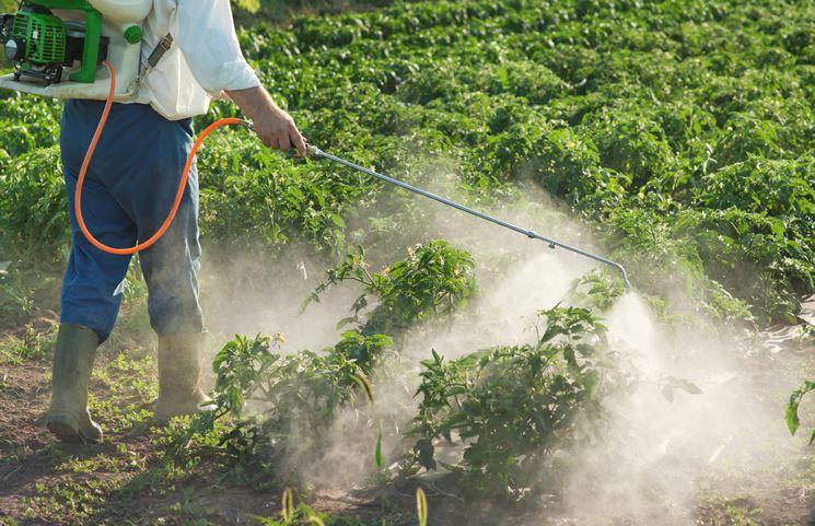 Uso  diserbante agricoltura