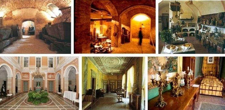 Il percorso della visita al Castello di Pralormo
