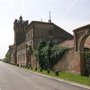 Una veduta del Castello di San Pelagio