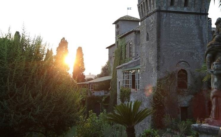 Profilo del Castello di Torcrescenza
