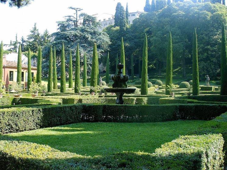 Giardino Giusti, panoramica