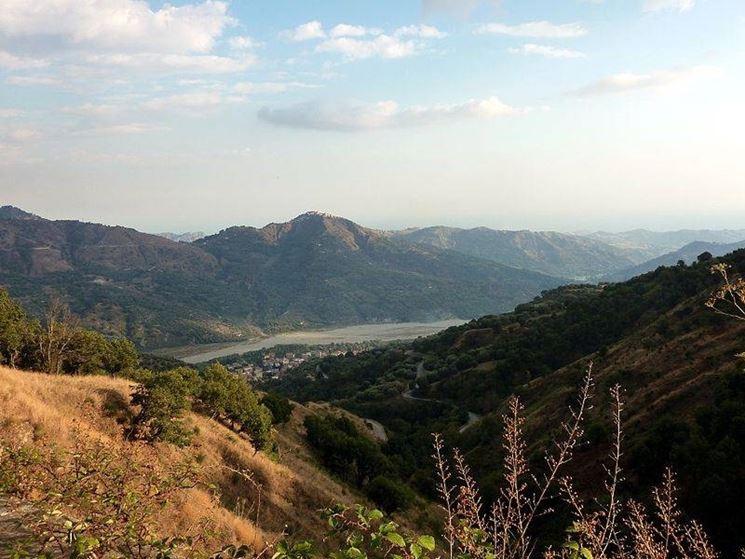 Un paesaggio dell'Aspromonte