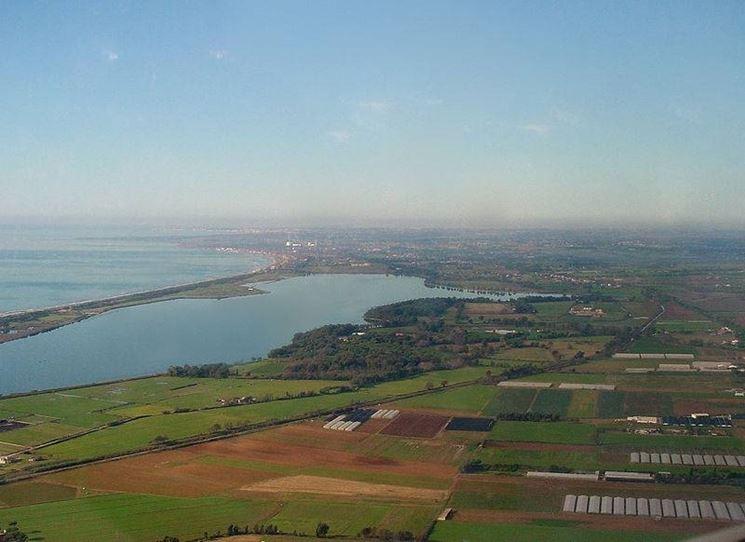 Vista della zona dei laghi