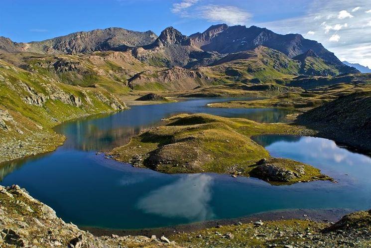 Paesaggio alpino del Parco del Gran Paradiso