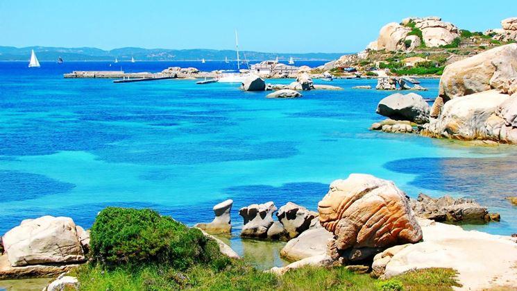 Acque trasparenti dell'Arcipelago della Maddalena