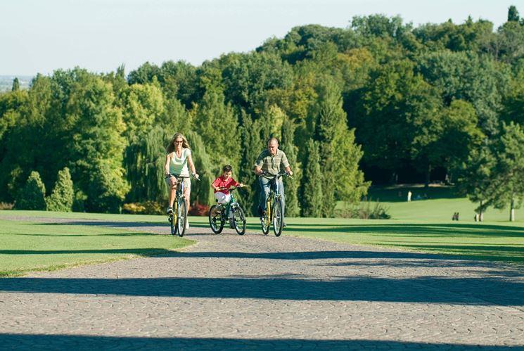 Tour del parco in bici