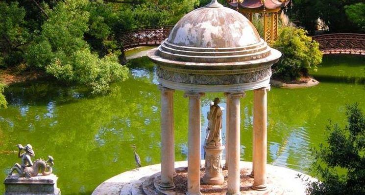 Villa Durazzo-Pallavicini: lago Grande