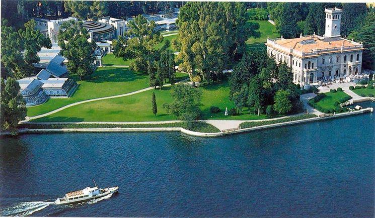 Il parco di Villa Erba