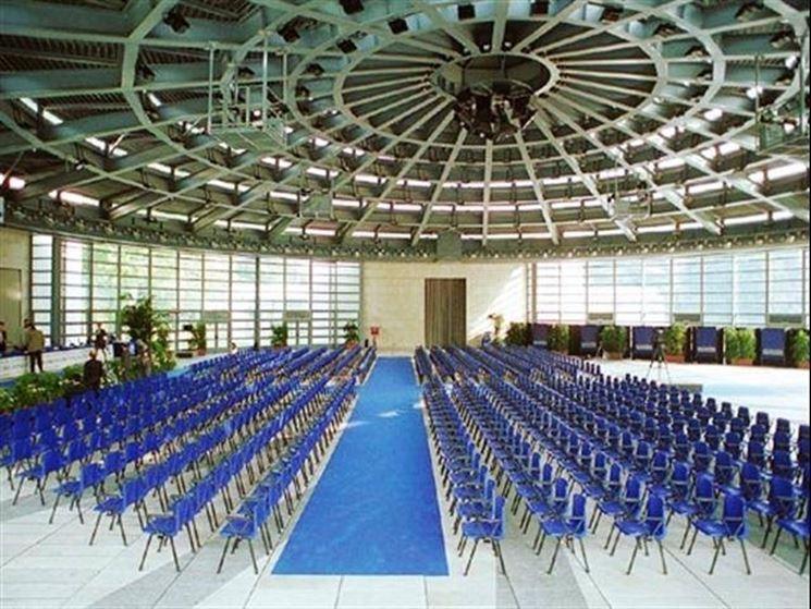 Interno del centro congressuale