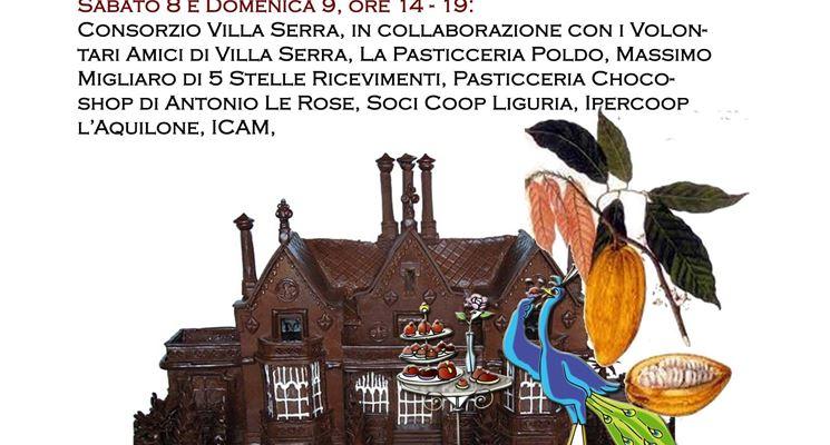 Il salone del cioccolato a Villa Serra